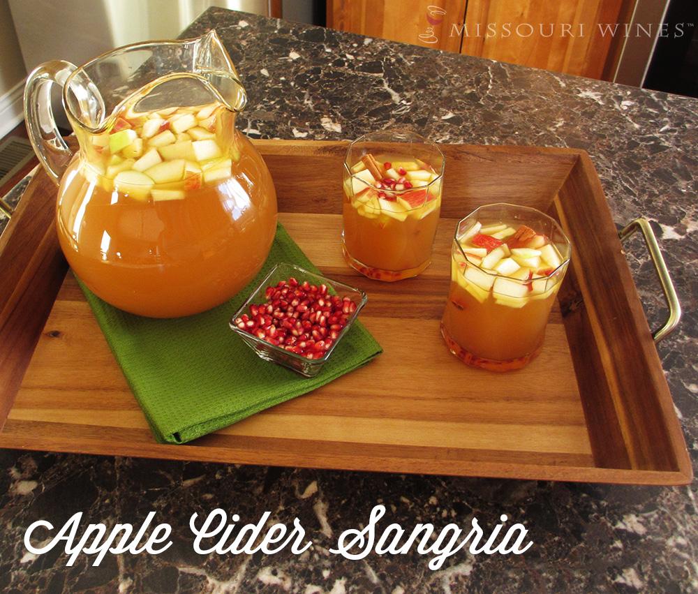 Apple Cider Sangria Recipe | MO Wine