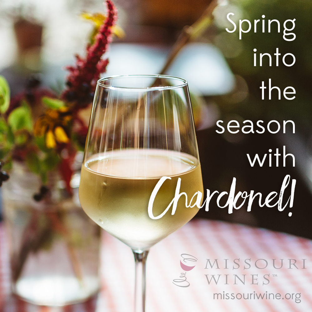 Spring into the Season with Missouri Chardonel