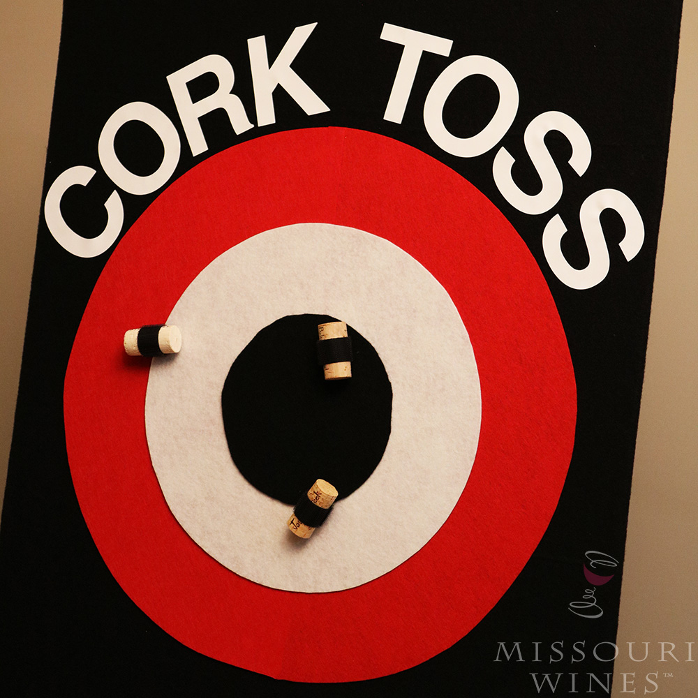 How To: DIY Cork Toss Game