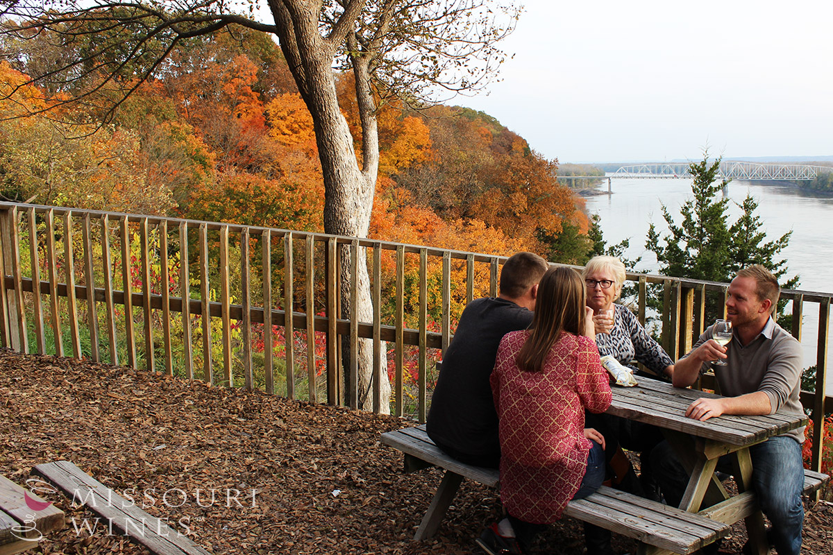 The Best Fall Views Are in MO Wine Country