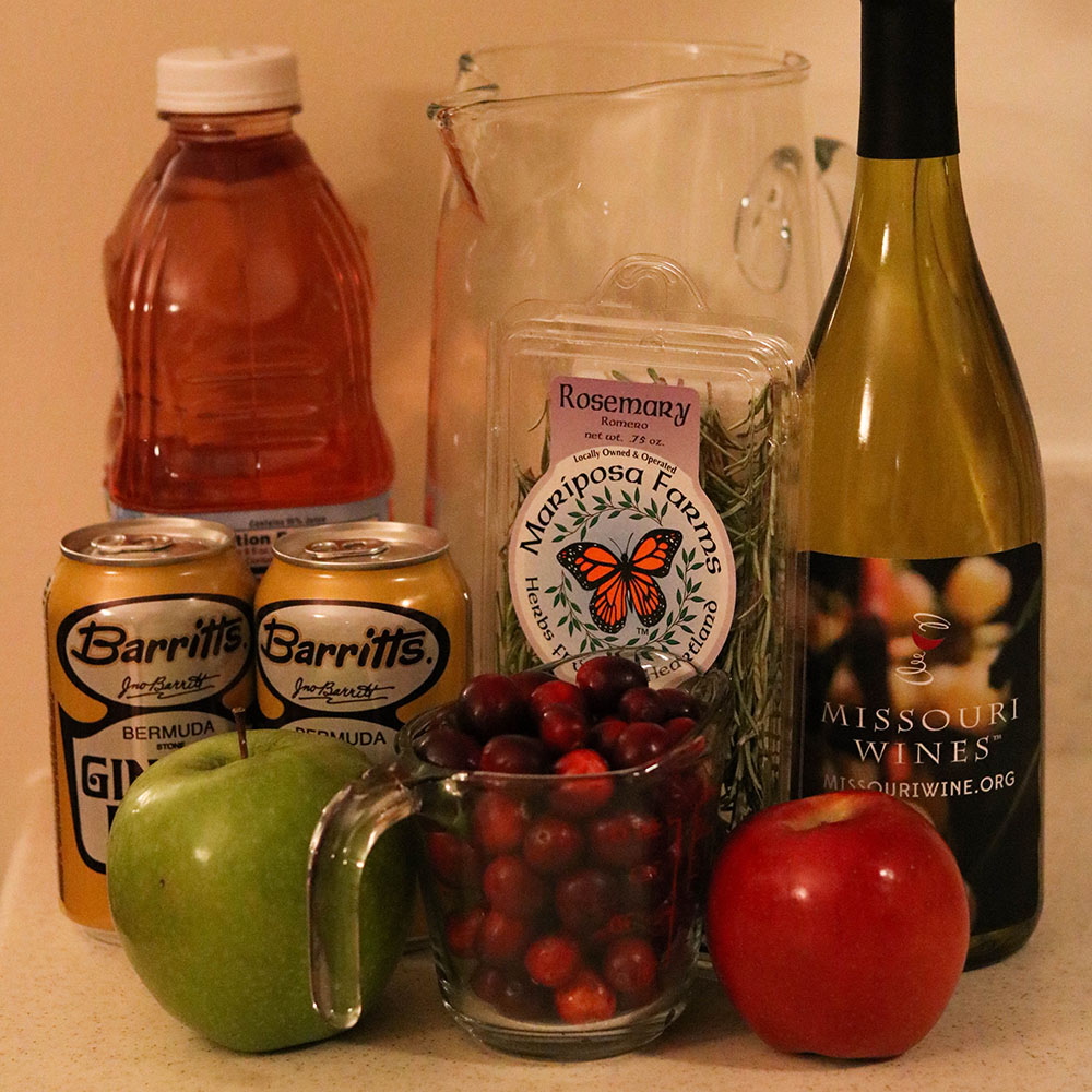 MO White Winter Sangria Ingredients