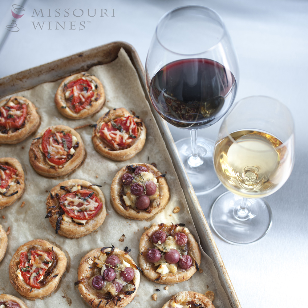 Take the Stress Out of Holiday Hosting: Missouri wine paired with delicious appetizers