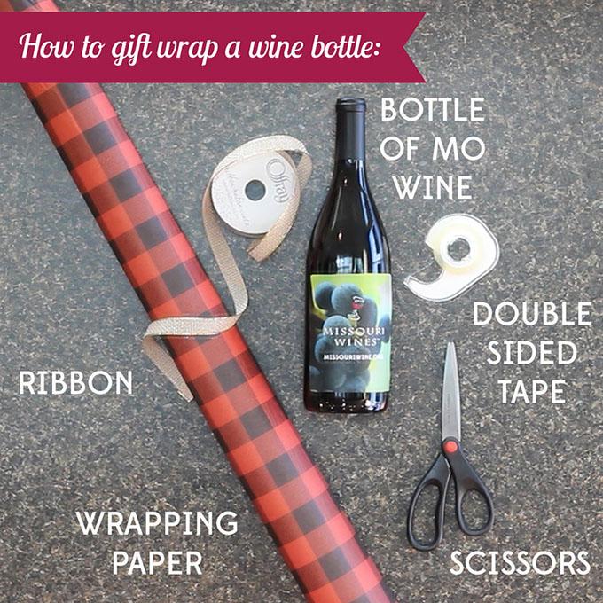 How To Gift Wrap Wine Bottles Three Ways Mo Wine