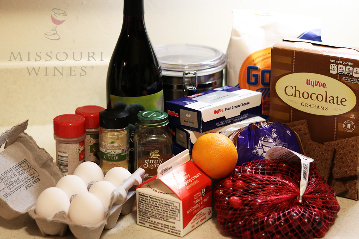 Mulled Wine Cheesecake: Ingredients
