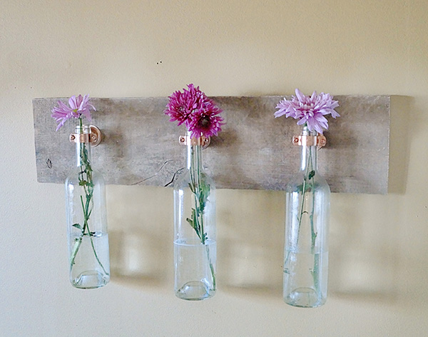 Mother 39 s day diy gift guide mo wine for How to make flower vases out of wine bottles