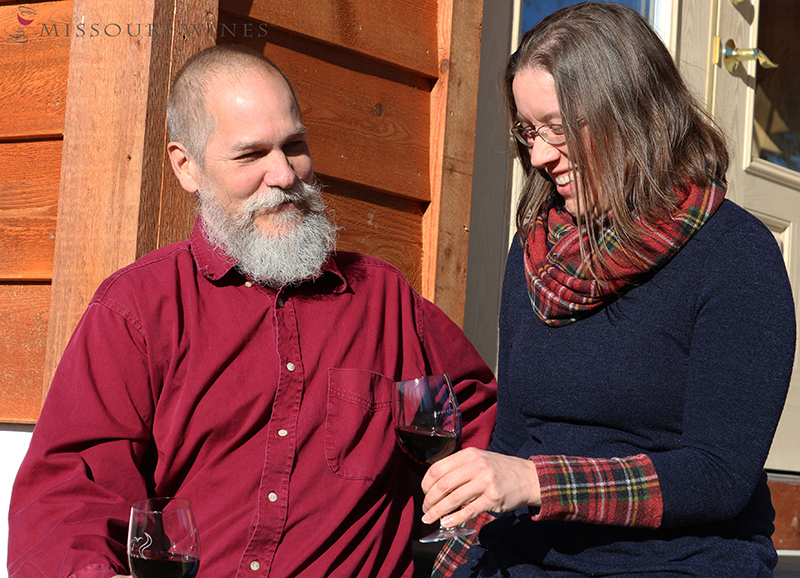 A Love Story In Missouri Wine Country Katie And Clyde Mo Wine