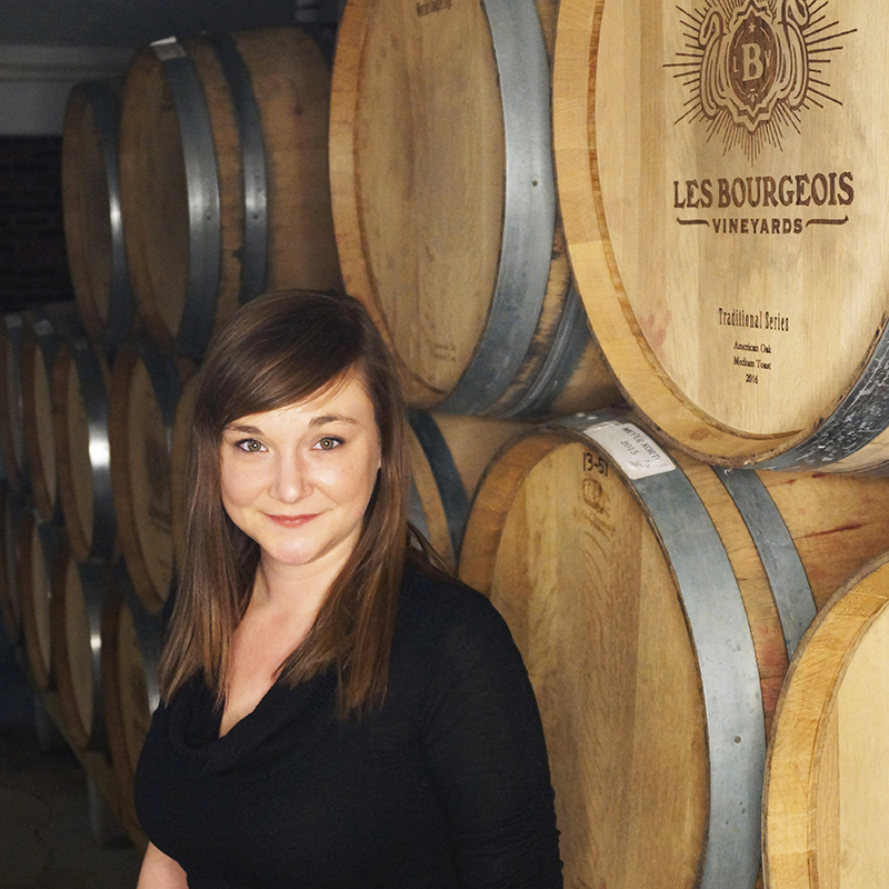 Sarah Cooper of Les Bourgeois Vineyards