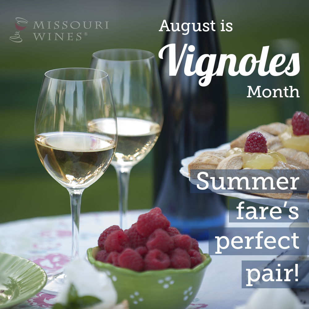 Missouri Vignoles is Summer Fare's Perfect Pair