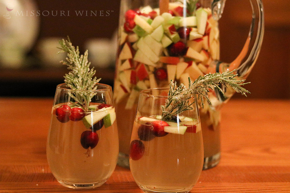 Missouri Winter White Sangria