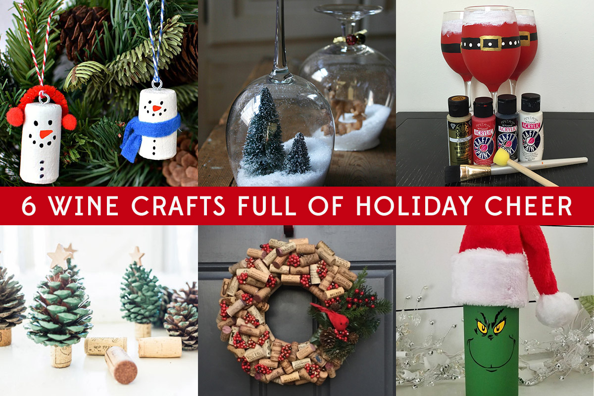 6 Wine Crafts Full of Holiday Cheer | MO Wine