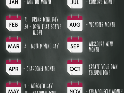 Wine Lovers Calendar