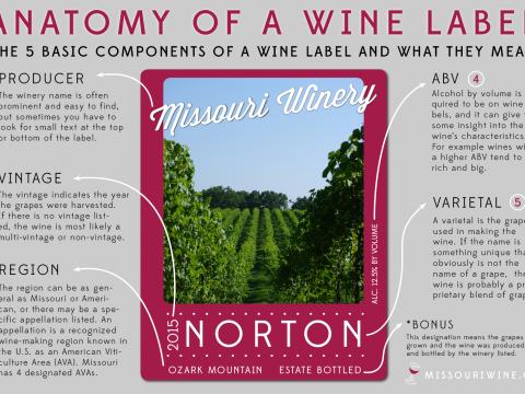 Anatomy of a Wine Label