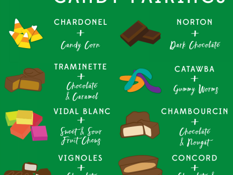 Halloween Candy Pairing