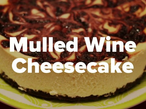 Embedded thumbnail for Mulled Wine Cheesecake Recipe
