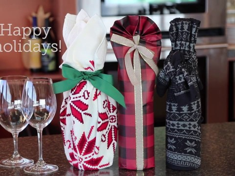 Embedded thumbnail for How to Gift Wrap Wine Bottles - Three Ways