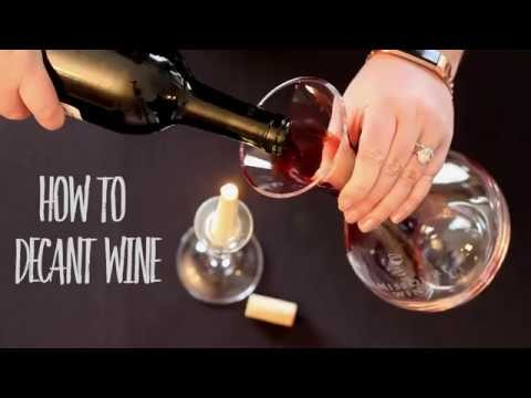 Embedded thumbnail for Decanting Wine: A Step-By-Step Guide