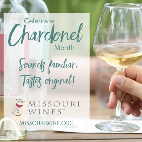 Celebrate MO Chardonel This April