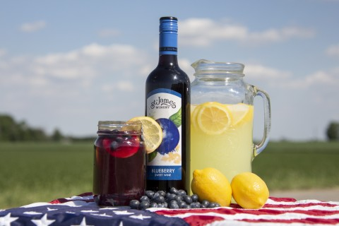 Red, White and Blueberry Lemonade Recipe