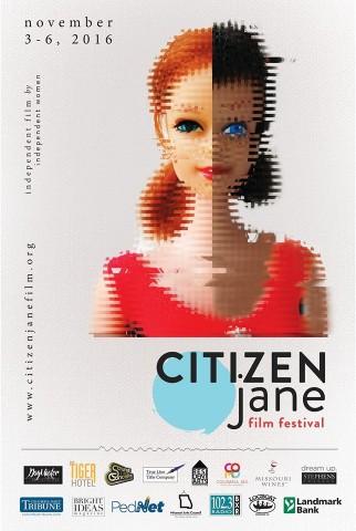 Citizen Jane Film Festival Poster