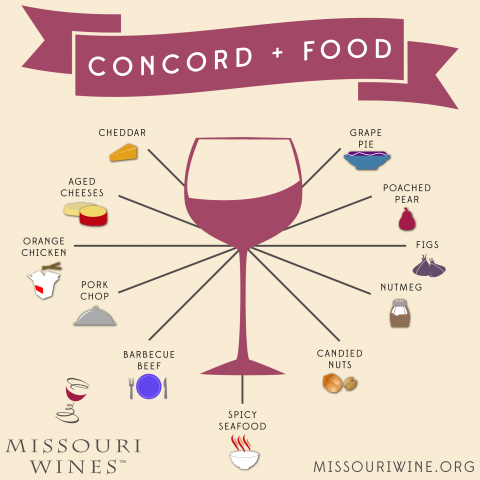Concord and Food Pairings