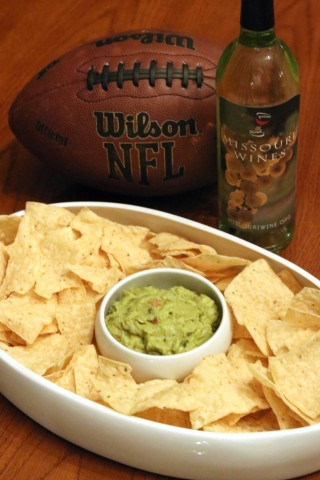 Football, Wine, and Chips