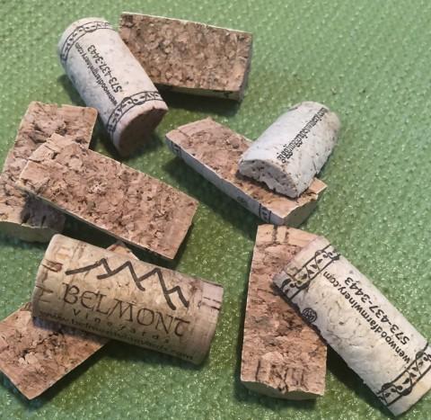cut up corks