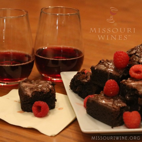 Missouri Wine Brownies