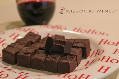 MO Wine Fudge