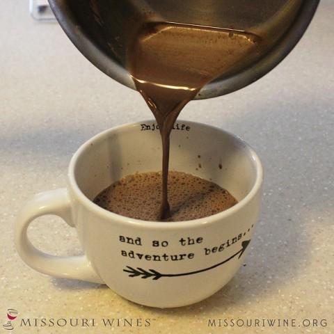 MO Wine Hot Cocoa
