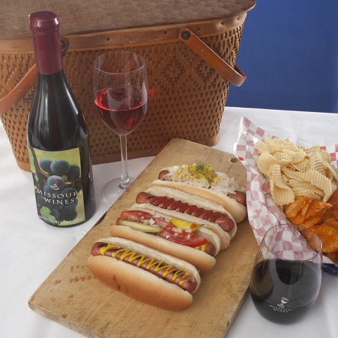 MO Wine and Hot Dogs