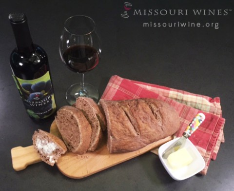 Missouri Wine Bread