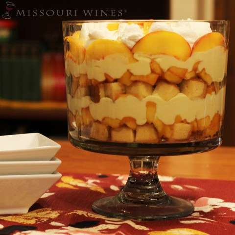 Delicious and Easy Peachy Vignoles Trifle