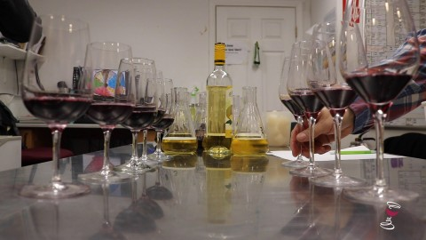 Blending Wine at Missouri wineries