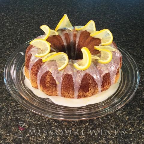 White Wine Lemon Cake