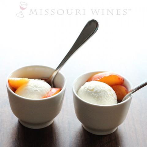 Wine Ice Cream Bowl