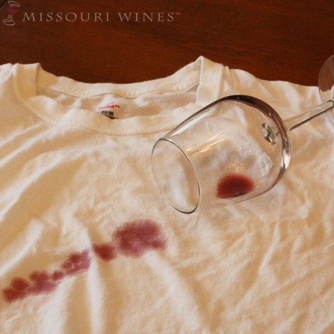 Don't let spilled wine ruin your day.