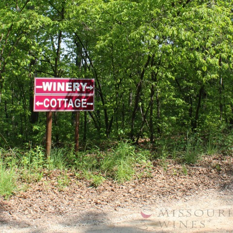 Winery Sign Summer