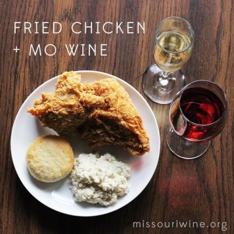 Fried Chicken + MO Wine