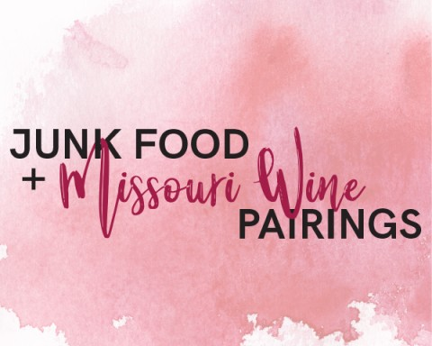 Junk Food and Missouri Wines