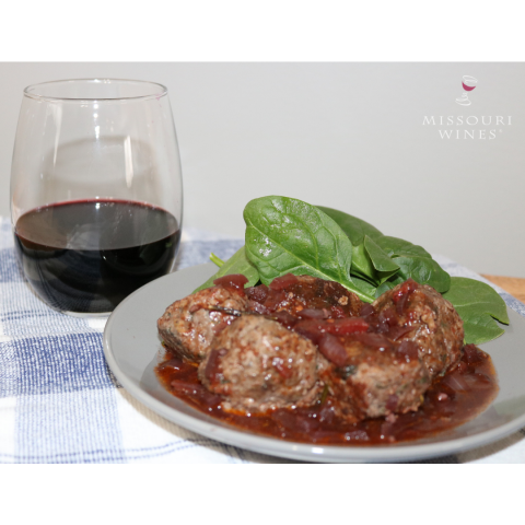 Meatballs with wine: Norton Month