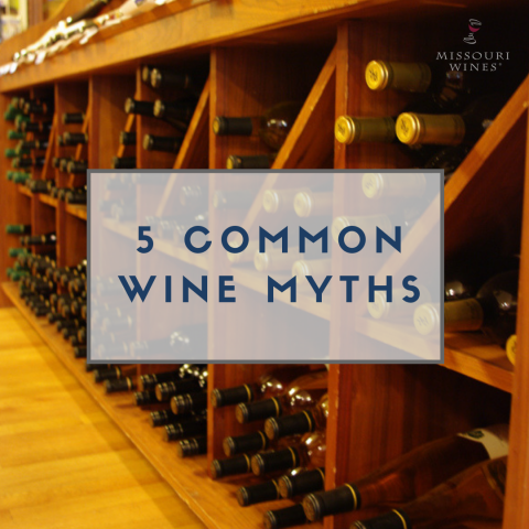 5 Common Wine Myths