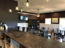 Christine's Vineyard tasting room
