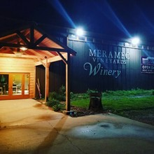 Meramec Vineyards at night